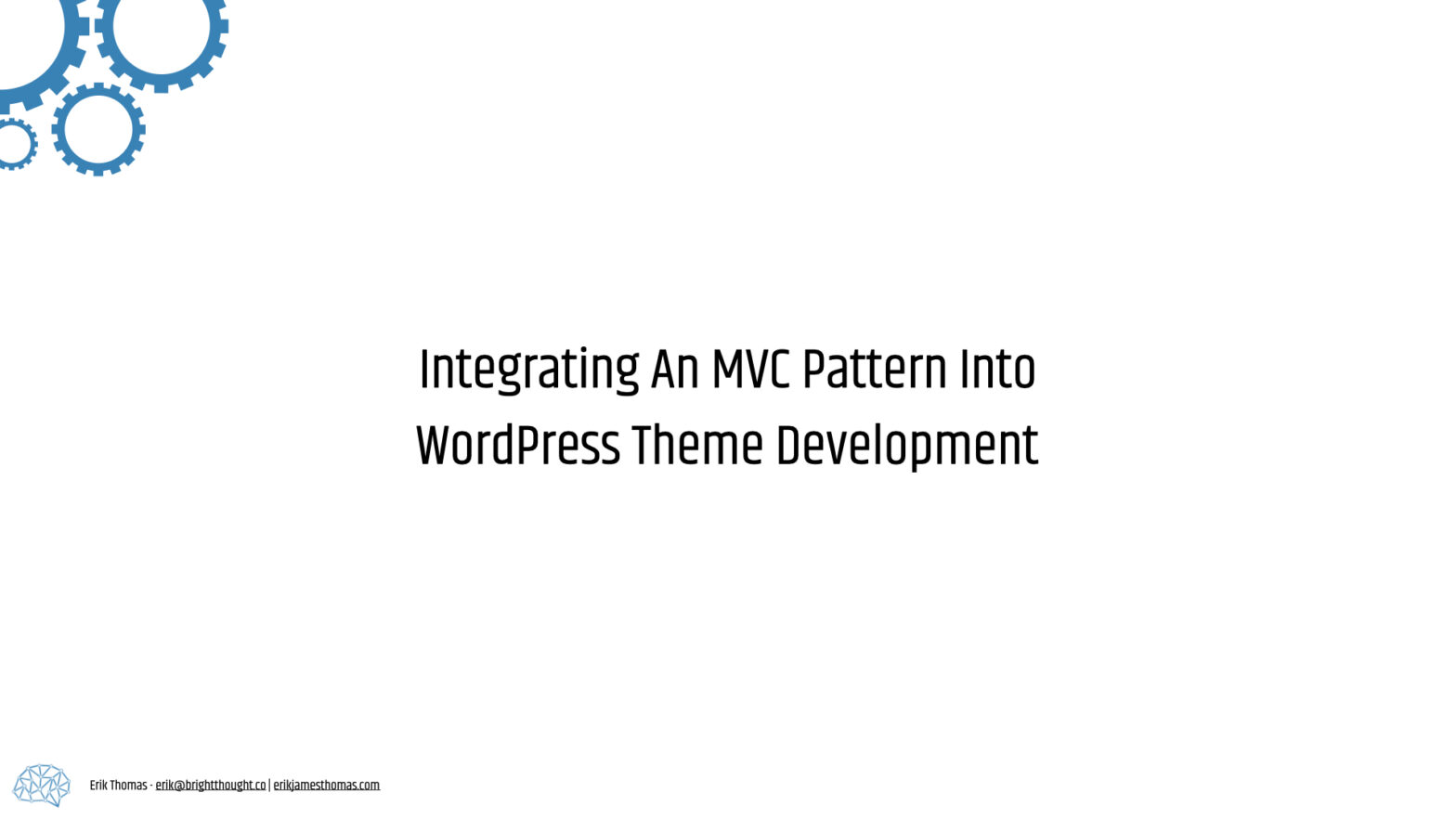 MVC Pattern Theme Development